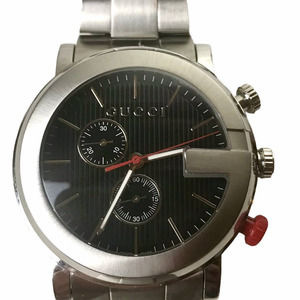 Gucci Chronograph Stainless Steel Mens NWT